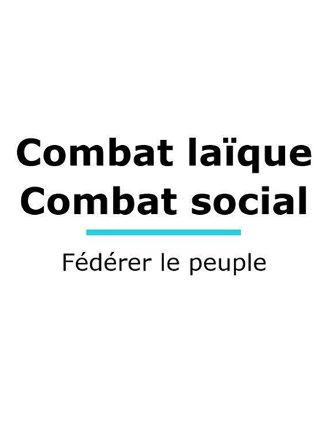 Guetteurs et tocsin Lier le combat laïque au combat social, fédérer le peuple
