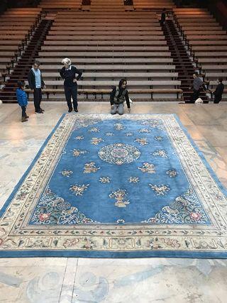 Au fil des jours Le Théâtre du Soleil marchand de tapis ?