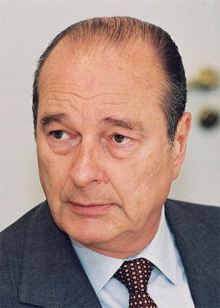 Au fil des jours Jacques Chirac