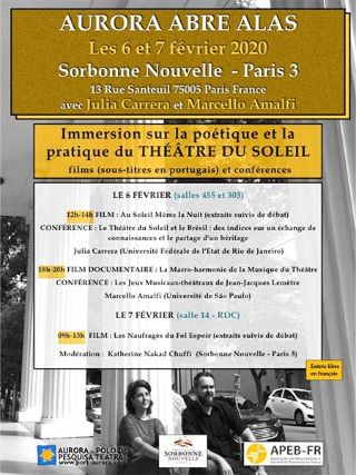 Soutien solidaire Aurora abre alas – Paris, France