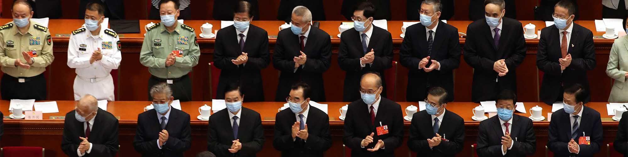 Guetteurs et tocsin En soutien à Hong Kong