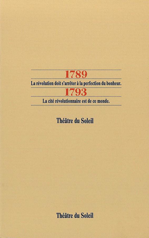 livre 1789 - 1793 en français