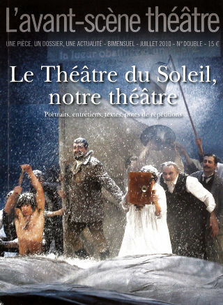 livre Le Théâtre du Soleil, notre théâtre 2010