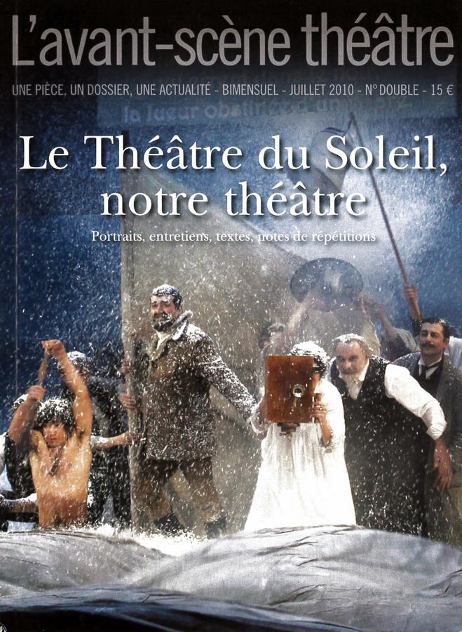 livre Le Théâtre du Soleil, notre théâtre en français