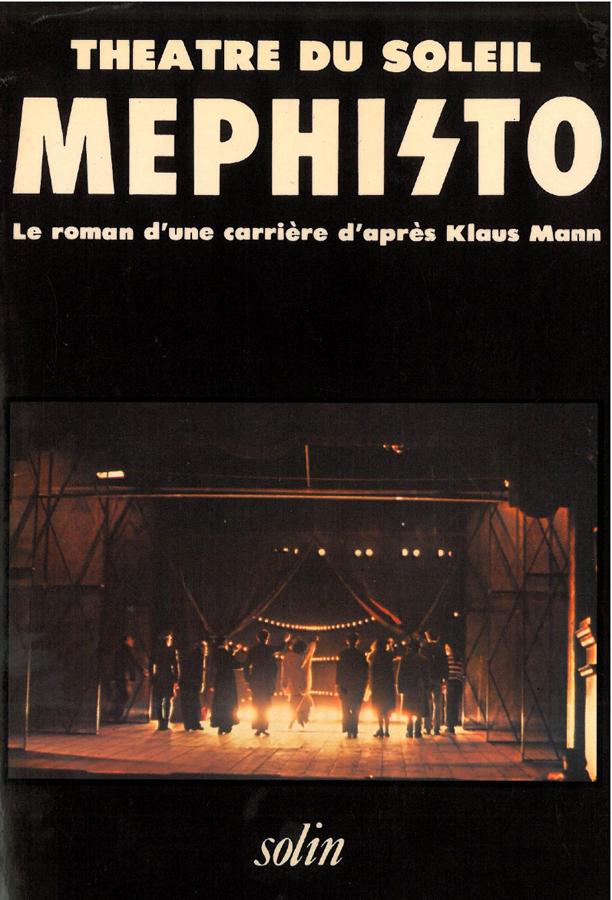 livre Méphisto en français