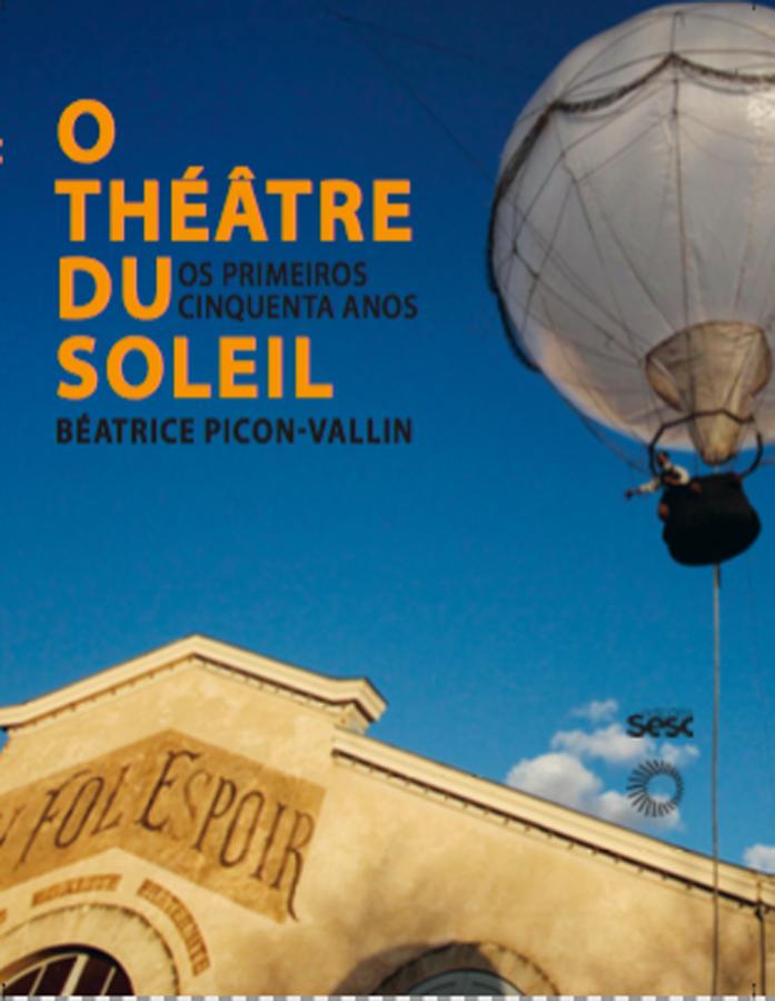 livre O Teatro du  Soleil en portugais