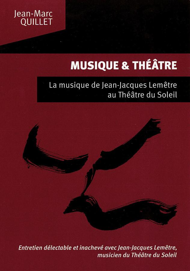 livre Musique et Théâtre en français