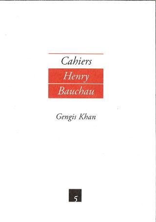 livre Cahiers Henri Bauchau n°5 2013