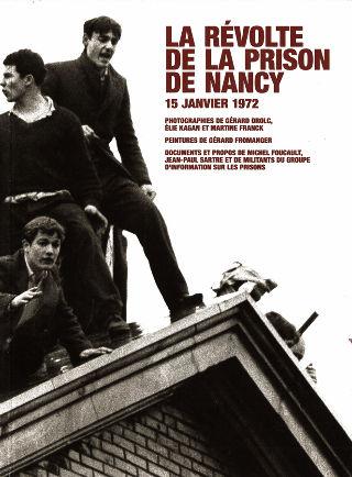 livre La Révolte de la prison de Nancy 2013
