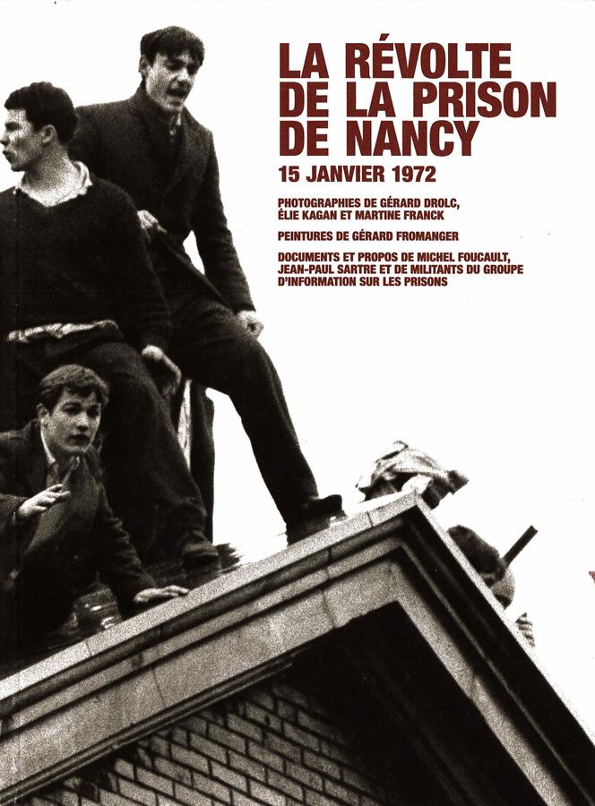 livre La Révolte de la prison de Nancy en français