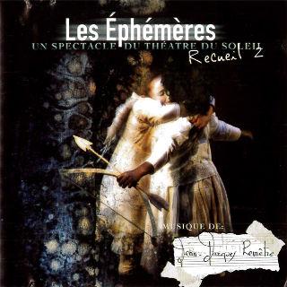 couverture Audio Les Ephémères - recueil 2 2006