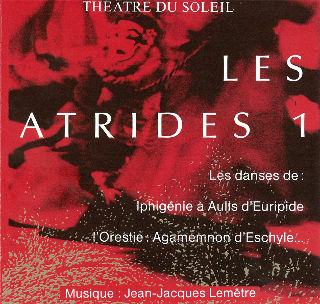 couverture Audio Les Atrides 1991