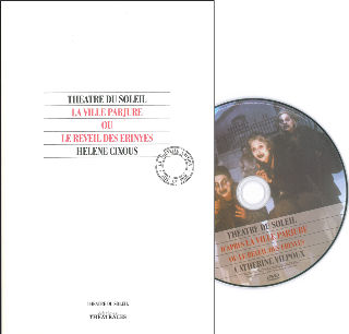 couverture Film d'après La Ville parjure ou le réveil des Erinyes 1994