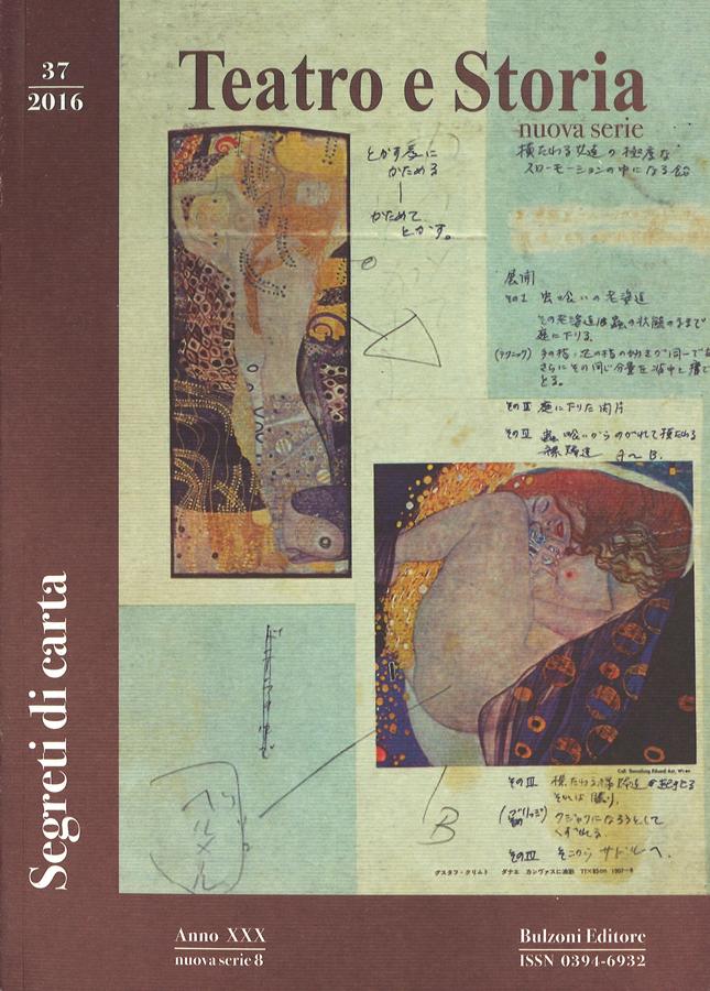 livre Teatro e storia en français