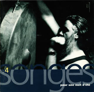 couverture Audio 4 songes pour une nuit d'été 1993