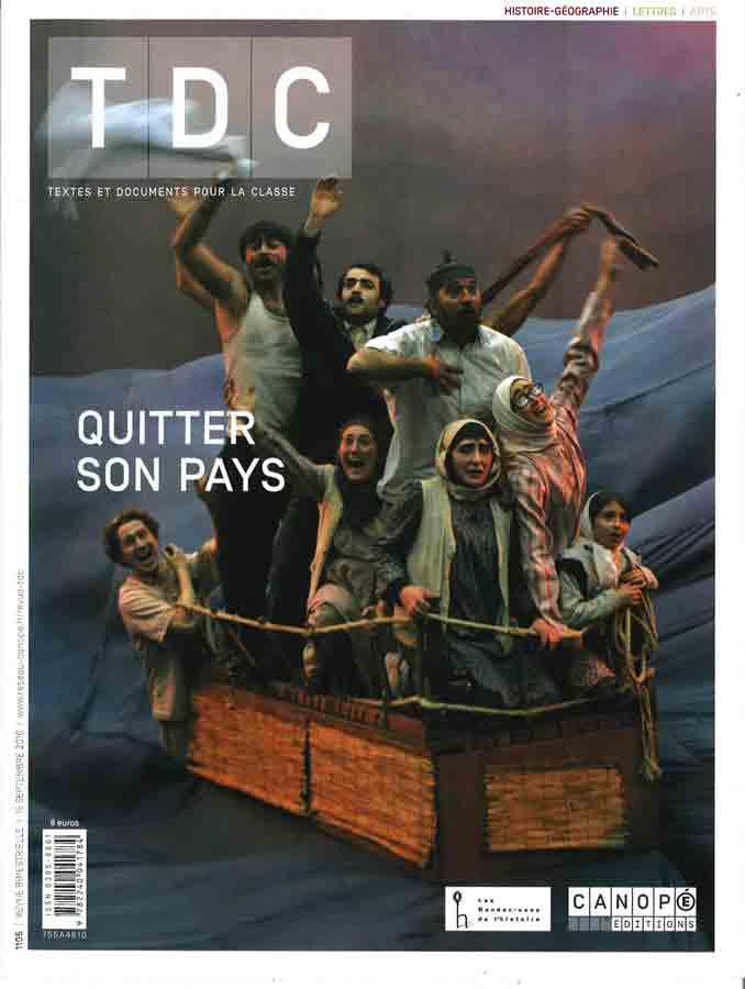 livre Quitter son pays en français