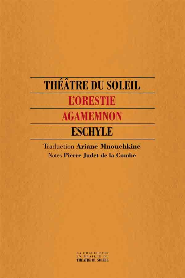 livre Agamemnon