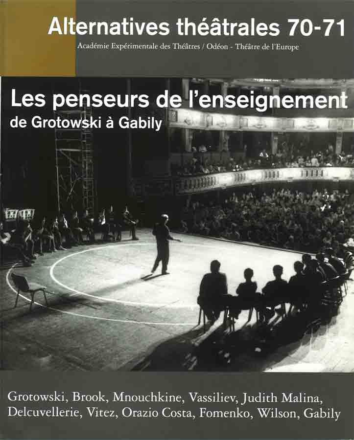livre Les penseurs de l'enseignement en français