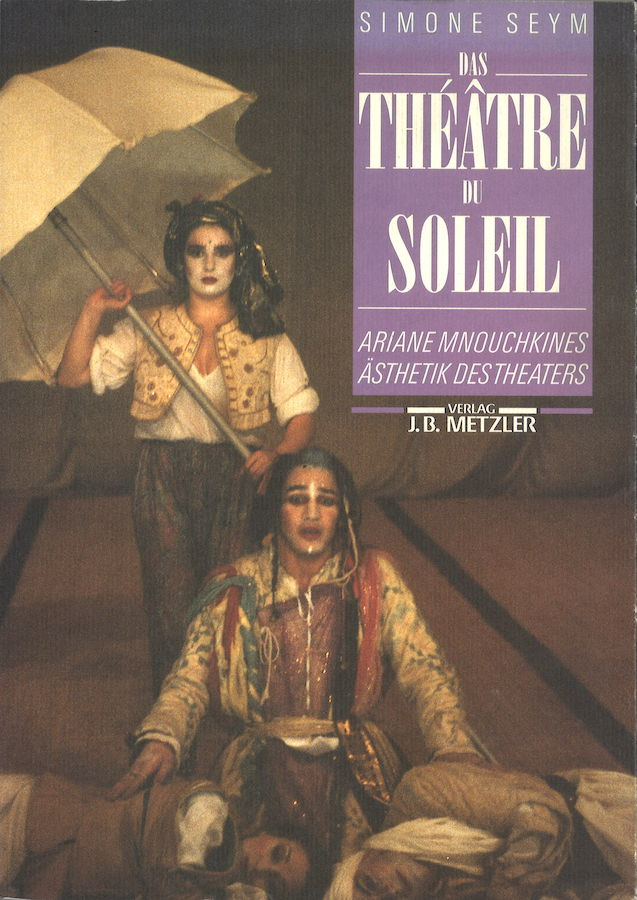 livre Das Théâtre du Soleil en allemand