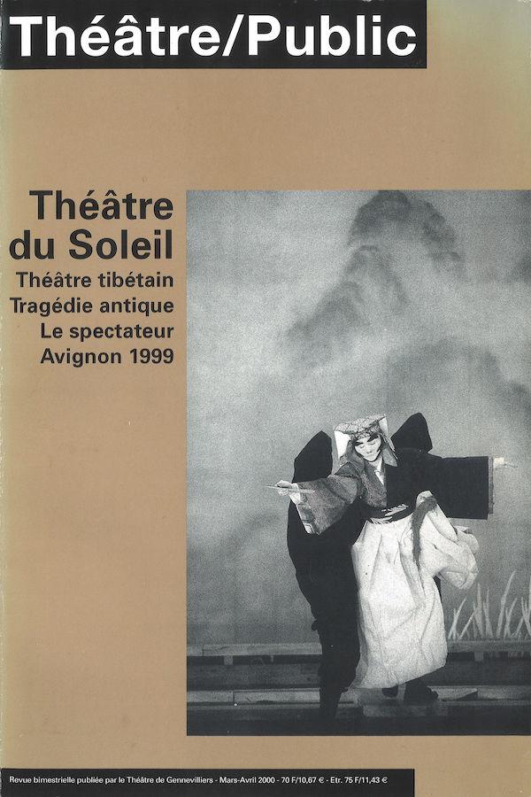 livre Théâtre/Public n°152 en français